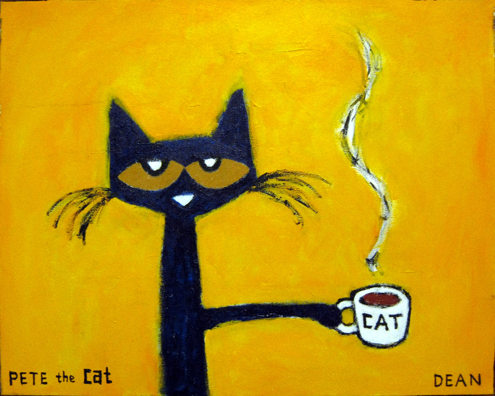 Pete The Cat I Love My White Shoes Illustration